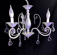 Классическая люстра-свеча на  3 ламп, фото 1