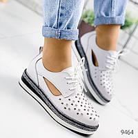 Туфли женские Polly белые