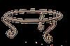 Подставка кованая GrunWelt 750
