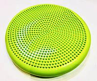 Балансировочная подушка (диск) салатовая, фото 1