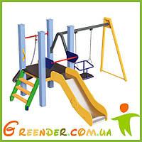 Игровой комплекс горка и качели Spider Kid 0,6