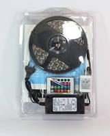 LED лента 5050 RGB цветные диоды +адаптер +контроллер