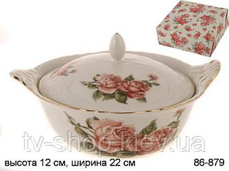 Супник с крышкой Корейская роза,Lefard