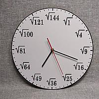 """Часы настенные """"Корень квадратный"""" для кабинета математики"""