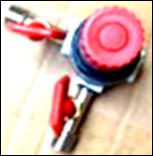 Редуктор  компрессора с кранами (малий)