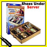 Органайзер для хранения обуви Shoes Under Server, фото 1