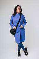 Тепле жіноче пальто з вовни на підкладці