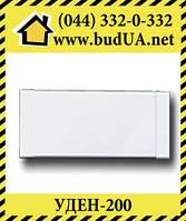 Теплый плинтус UDEN-200, 998*130*35, белый