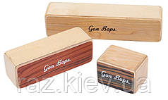 GON BOPS FSPWSH3 Fiesta Wood Shakers Набор из трех деревянных шейкеров