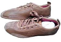 Чоловічі Кросівки коричневі шкіряні 41 «George Best» (Велика Британія)