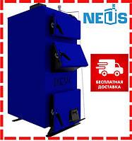 Котел твердотопливный Неус-ВМ 13 кВт, сталь 5 мм, доставка бесплатно