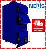 Котел твердотопливный Неус-ВМ 38 кВт, сталь 5 мм, доставка бесплатно