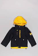 Куртка демисезонная для мальчиков (110-134)т