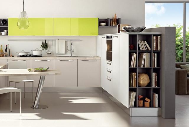 На фото: кухня на заказ Черкассы выполненная из ламинированной ДСП