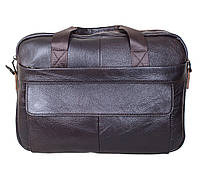 Мужская кожаная сумка Dovhani NEWR1909DBROWN-111 Коричневая