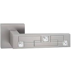 Дверные ручки ORO&ORO LOTUS 102CR-13E MSN (перламутровый никель)
