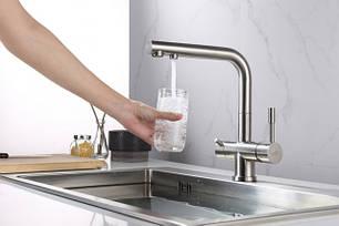 Смесители с подключением водного фильтра