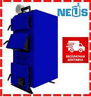 Котел твердотопливный Неус-В 10 кВт, сталь 5 мм, доставка бесплатно
