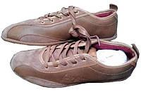 Чоловічі Кросівки коричневі шкіряні 43 «George Best» (Велика Британія)