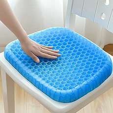 Подушка egg sitter, Ортопедическая подушка, Гелиевая подушка для стула, Подушка для сидения, Массажная подушка, фото 3