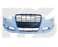 Бампер передний Audi A6 С6 (08-11) с отв. омывателя, п/троника (FPS) 4F0807105AA