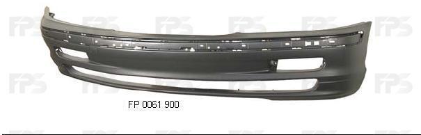 Бампер передний BMW 3 E46 98-01 (FPS) 51118195284