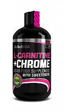 Карнитин жиросжигатель Biotech L-Carnitine + Chrome 500 ml