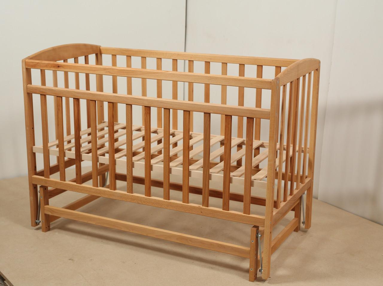 Кровать «VALERI» на подшипниках (3 высоты) (600 * 1200) (бук)
