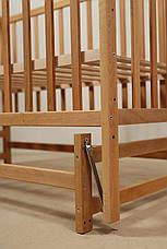 Кровать «VALERI» на подшипниках (3 высоты) (600 * 1200) (бук), фото 2