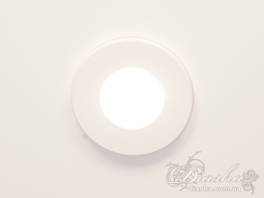 """Влагозащищённый точечный светильник, серия """"Аluminium""""&160B-40 WH"""