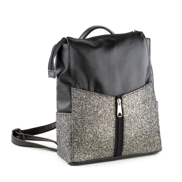 Гламурный рюкзак—трансформер БЕЗ КЛАПАНА в расцветках