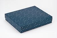 "Коробка ""Топ"" М0009-о11 ""Звезды на синем"", размер: 280*230*50 мм, фото 1"