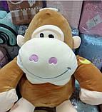 Детский плед игрушка Обезьяна, фото 8