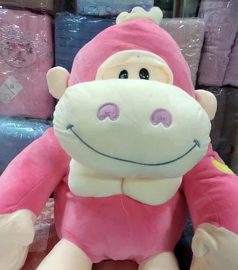 Детский плед игрушка Обезьяна