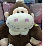 Детский плед игрушка Обезьяна, фото 5