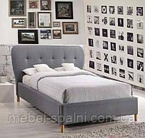 Кровать односпальная полуторная  двуспальная деревянная с ящиками «Влада»