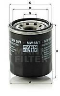 Масляный фильтр K&N для мотоциклов KN-156