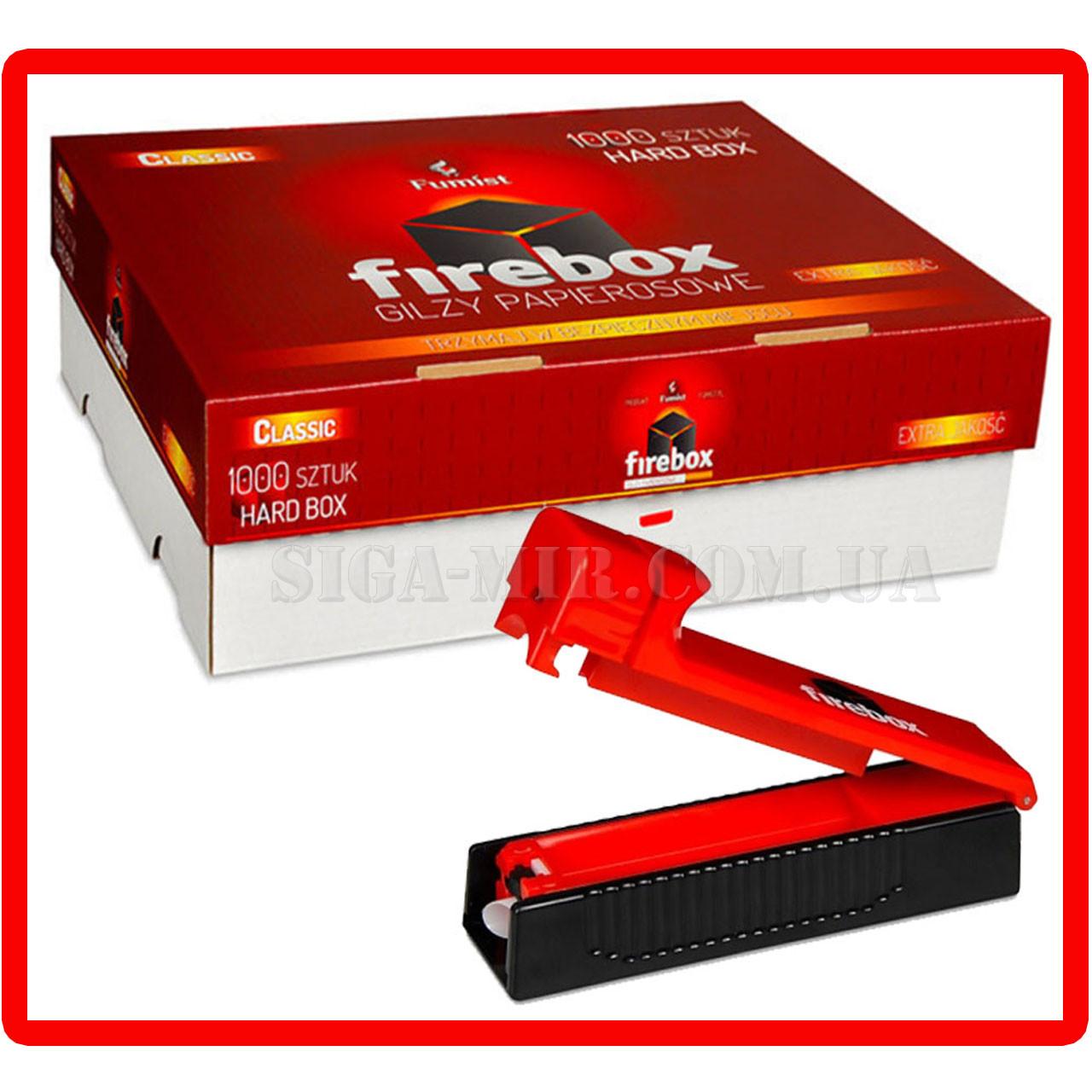 Набор Сигаретные Гильзы FireBox 1000 штук + фирменная машинка для набивки сигарет