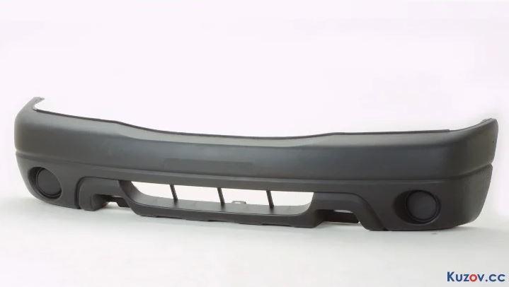 Бампер передний Suzuki Grand Vitara '01-04 черный (FPS) 7171165DA026U