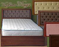 Кровать односпальная полуторная  двуспальная деревянная с ящиками «Лада»