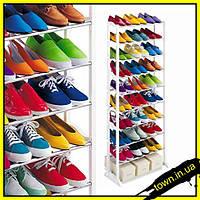 Полка для обуви на 30 пар, органайзер, стеллаж Amazing Shoe Rack, фото 1