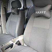 Citroen C-Elysee 2012 - седан раздельная задняя спинка автомобильные чехлы на сиденья