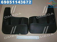 ⭐⭐⭐⭐⭐ Брызговики передние VW Polo 2010-2015, сед.(стандарт)(про-во NOVLINE)  NLF.51.30.F10