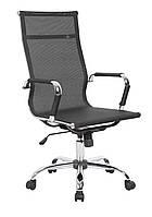 Офисное кресло с микросетки SOFOTEL AZZUR ЧЕРНОЕ наложка