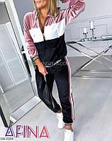 Женский плюшевый спортивный костюм, фото 1
