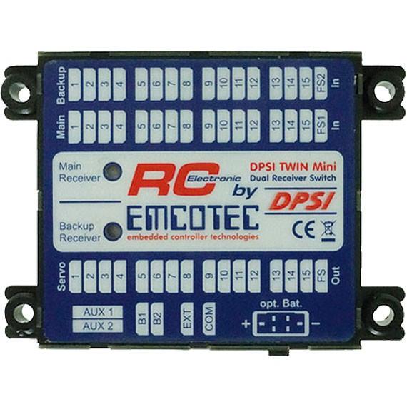EMCOTEC TWIN Mini DPSI LC-Display