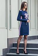 Платье женское вязаное Стасся, в расцветках