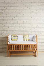 Кровать «VALERI» на подшипниках с откидной боковиной (600 * 1200) (Венге), фото 3