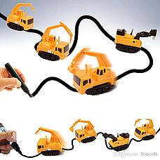 Индуктивный игрушечный автомобиль Inductive Truck, фото 3