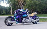 Мотоцикл Travertson V-Rex 2
